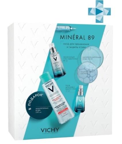 Купить Набор/mineral 89 гель-сыворотка 50мл+mineral 89 уход для кожи вокруг глаз 15мл+purete thermale мицеллярная вода с минералами 200мл/ цена