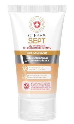 Купить Anti-acne bb крем антибактериальный для проблемной кожи 40мл цена