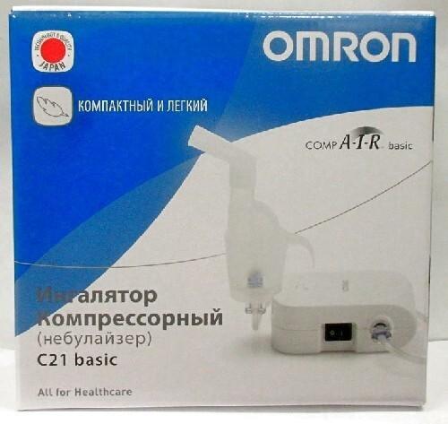 Купить Ингалятор omron c21 basic компрессорный цена