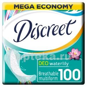 Купить Deo multiform водяная лилия ежедневные гигиенические прокладки n100 цена