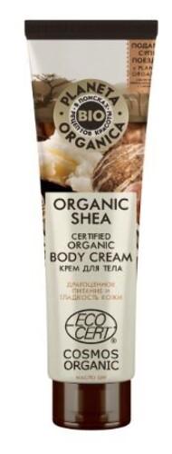 Купить Organic shea крем для тела органический 140мл цена