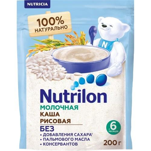 Каша молочная рисовая grains&milk 200,0