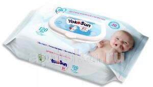 Купить Детские влажные салфетки n120 цена