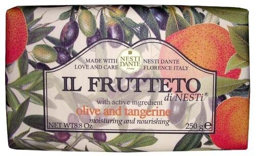Купить Il frutteto мыло оливковое масло и мандарин 250,0 цена