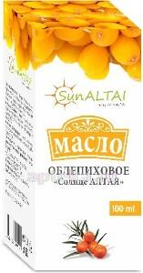 Купить Облепиховое масло солнце алтая 100мл флак инд/уп цена