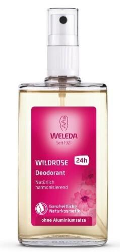 Wildrosen розовый дезодорант 100мл