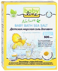 Купить Nature детская морская соль для ванн с ромашкой 500,0 цена