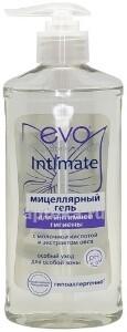 Купить Evo intimate intimate мицеллярный гель для интимной гигиены 275мл цена