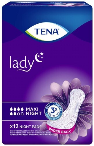 Купить Lady maxi night урологические прокладки n12 цена