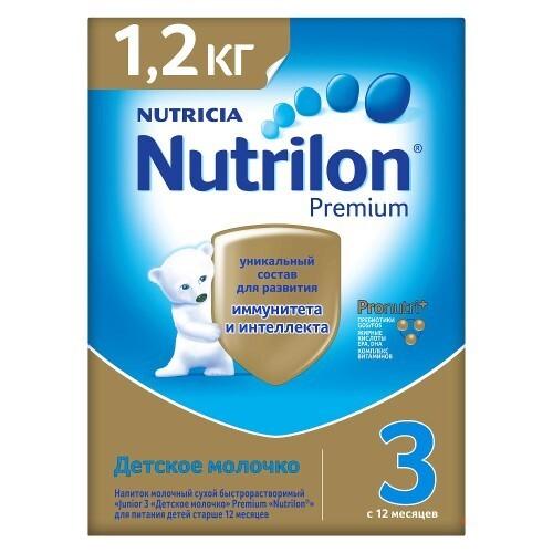 Купить 3 junior premium напиток сухой молочный цена