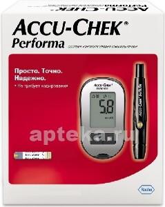 Глюкометр акку-чек перформа /набор/