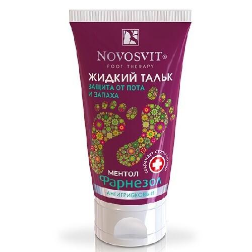 Купить Жидкий тальк фарнезол защита от пота запаха антигрибковый 50мл цена