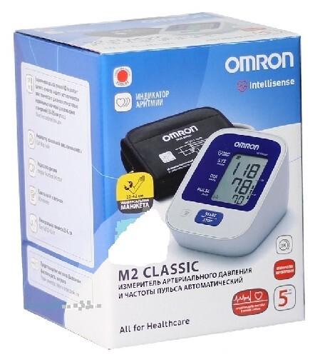Тонометр omron m2 classic автомат/hem-7122-lru