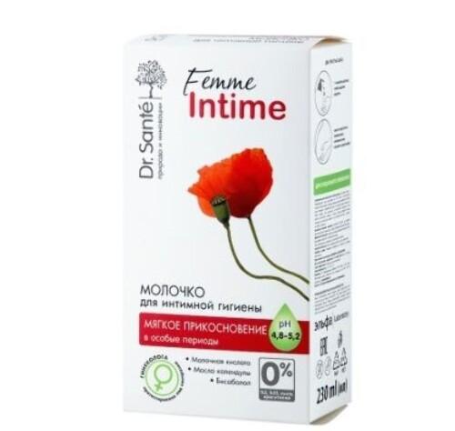 Купить Femme intime молочко для интимной гигиены мягкое прикосновение 230мл цена