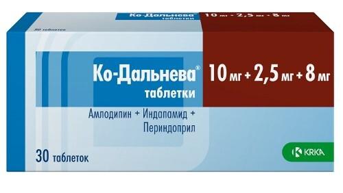 Купить КО-ДАЛЬНЕВА 0,01+0,0025+0,008 N30 ТАБЛ цена
