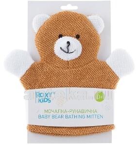 Купить Махровая мочалка-рукавичка baby bear 0+ цена