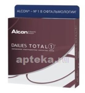 Купить ALCON DAILIES TOTAL 1 ОДНОДНЕВНЫЕ ВОДОГРАДИЕНТНЫЕ КОНТАКТНЫЕ ЛИНЗЫ /-5,00/ N90 цена