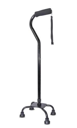 Купить Трость amcq21 инвалидная телескопическая металлическая с 4-мя опорами цена