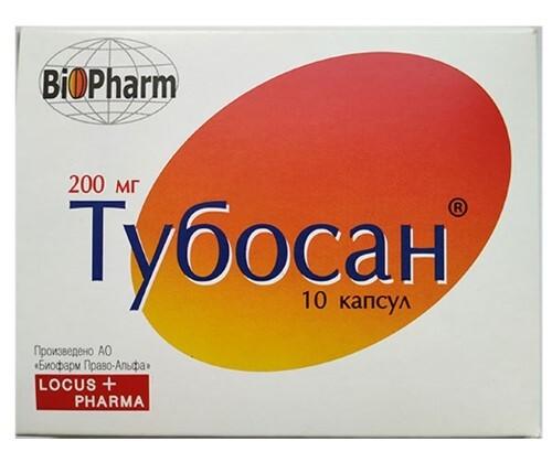 Купить ТУБОСАН 0,2 N10 КАПС цена
