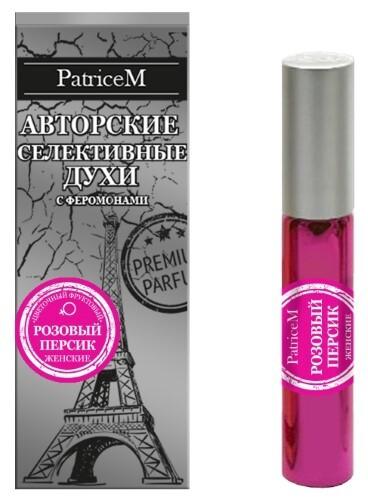 Sexy life духи с феромонами женские розовый персик 10мл