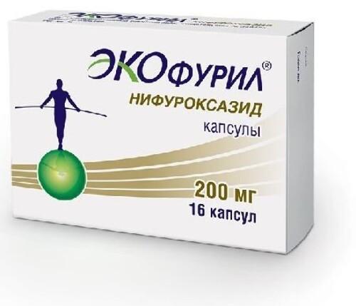 Купить ЭКОФУРИЛ 0,2 N16 КАПС цена