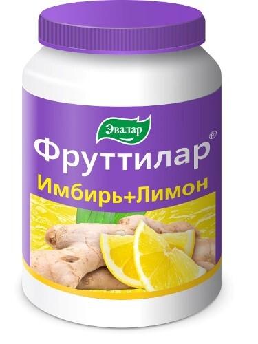 Купить Фруттилар имбирь+лимон цена