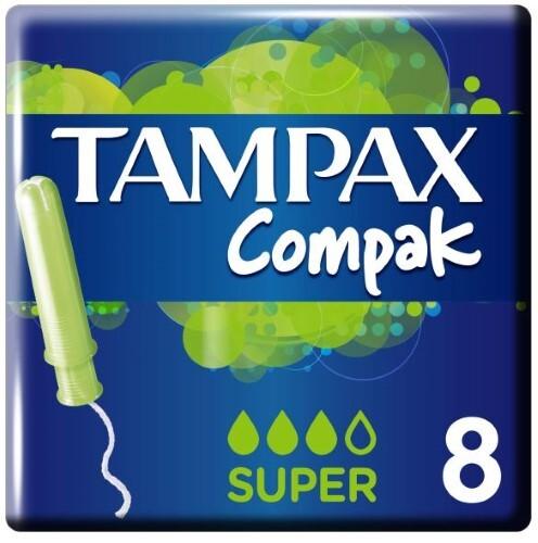 Купить Тампоны compak super с аппликатором n8 цена
