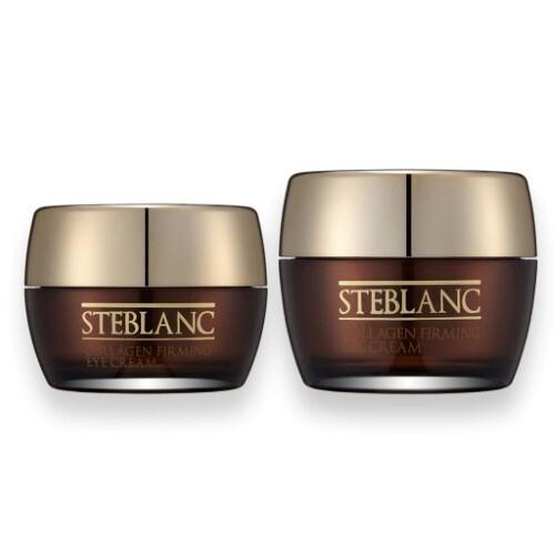 Набор STEBLANC «Лифтинг и коррекция морщин»: крем-гель для лица и крем вокруг глаз с коллагеном