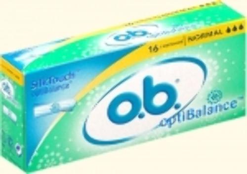 Купить ТАМПОНЫ O.B. OPTIBALANCE NORMAL N16 цена