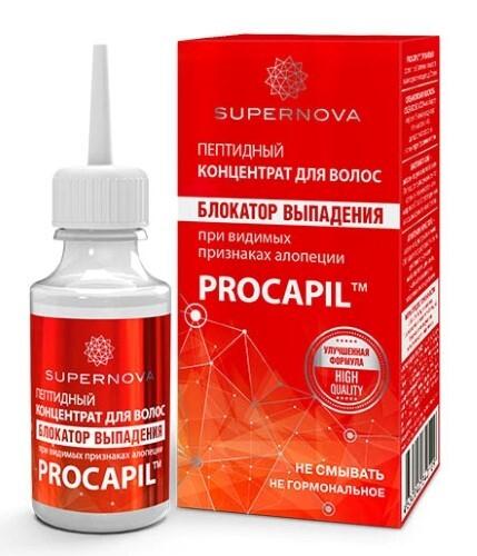 Купить Концентрат для волос пептидный блокатор выпадения при видимых признаках алопеции 30мл цена