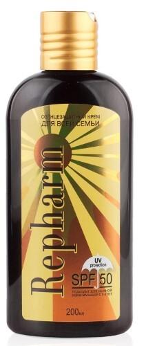 Солнцезащитный крем для всей семьи spf 50 200мл