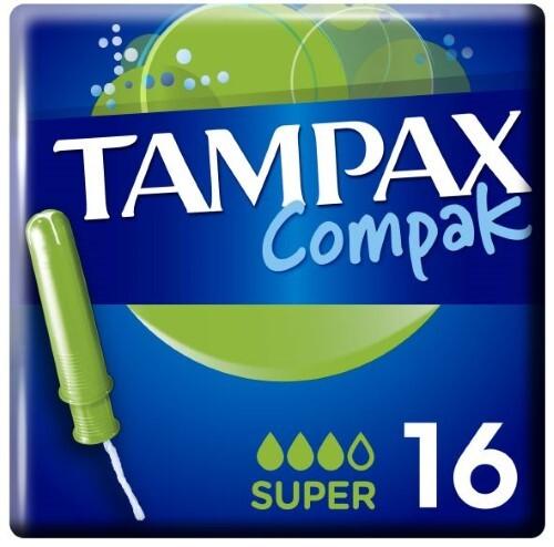 Купить Тампоны compak super с аппликатором n16 цена