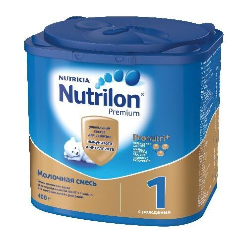 Купить NUTRILON-1 PREMIUM СМЕСЬ МОЛОЧНАЯ СУХАЯ ДЕТСКАЯ АДАПТИРОВАННАЯ 400,0 цена