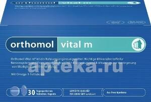 Купить Ортомоль витал м /таблетки + капсулы/ курс цена