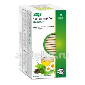 Купить Чай эвалар био зеленый цена