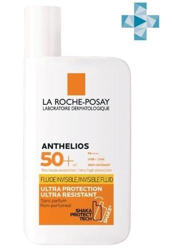 Купить Anthelios флюид невидимый для лица и кожи вокруг глаз spf50+ 50мл цена