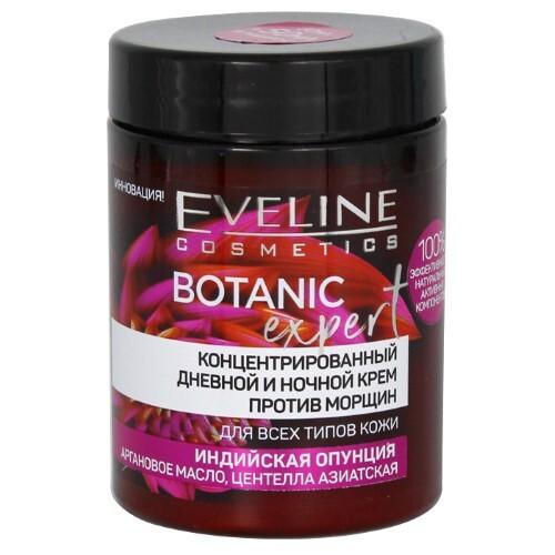 Купить Eveline botanic expert крем дневной и ночной концентрированный против морщин 100мл цена