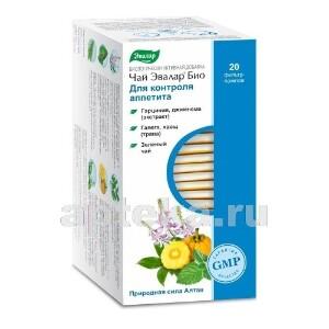 Купить Чай эвалар био д/контроля аппетита цена