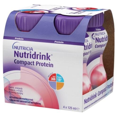 Купить Компакт протеин охлаждающий фруктово-ягодный вкус 125мл n4 цена