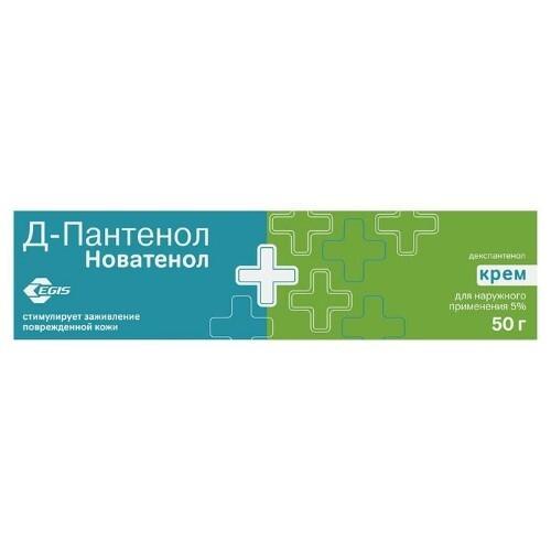 Купить Д-пантенол новатенол 5% 50,0 крем д/наруж прим цена