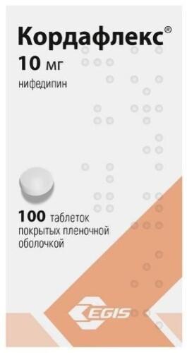 Купить КОРДАФЛЕКС 0,01 N100 ТАБЛ П/ПЛЕН ОБОЛОЧ цена