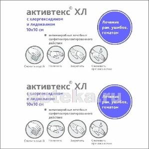 Купить Хл салфетки антимикробные с хлоргексидином и лидокаином 10х10см n10 цена