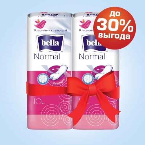 Купить Набор bella прокладки normal softiplait n10 2 уп по специальной цене цена