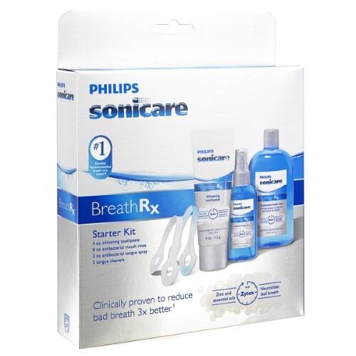 Sonicare набор для гигиены полости рта breathrx стартовый dis357/11