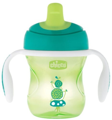 Training cup поильник 6+ 200мл/зеленый
