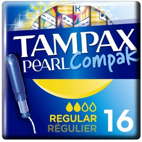 Купить Тампоны compak pearl regular с аппликатором n16 цена