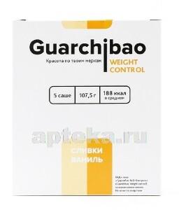Купить Гуарчибао вейт контрол со вкусом сливки-ваниль цена