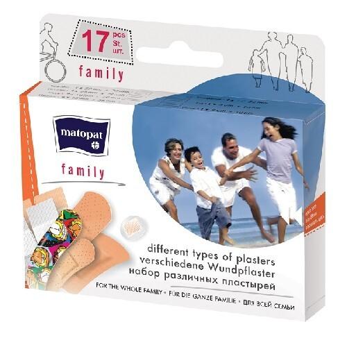Купить Пластырь матопат family n17 цена