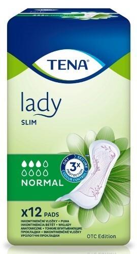 Купить Lady slim normal урологические прокладки n12 цена