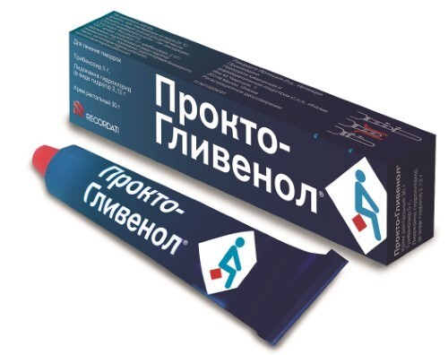 Купить Прокто-гливенол 30,0 крем рект цена